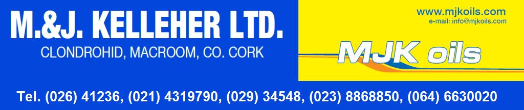 News from M&J Kelleher Oils, Clondrohid, Cork
